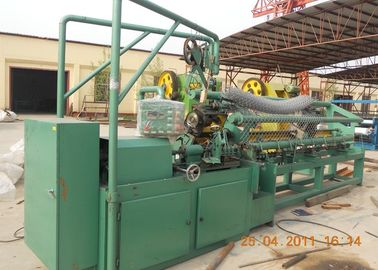 China Professional Chain Link Fence Making Machine / Diamond Mesh Fencing Machine 2 - 4M supplier