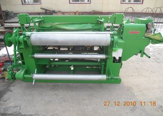 China Stainless Steel Welded Wire Mesh Machine For Rolled Wire Mesh Green Color supplier