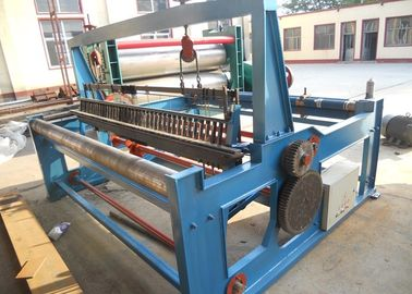 China Multi Functional Crimped Wire Mesh Machine Plain Weave Style Easy Operation supplier