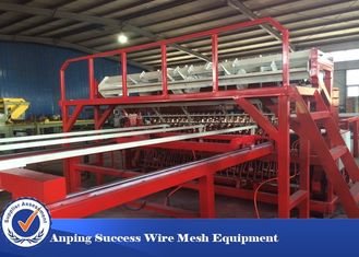 China Mechanical Wire Mesh Making Machine PLC Centralized Control Touch Screen supplier