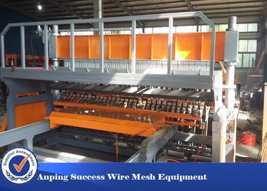 China Pneumatic Reinforcing Wire Mesh Making Machine Easy Operation Width 2500mm supplier
