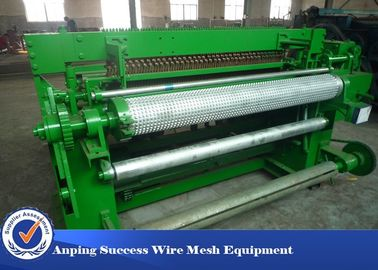 China Low Carbon Welded Fence Welding Machine , PVC Plastic Coated Wire Netting Machine supplier