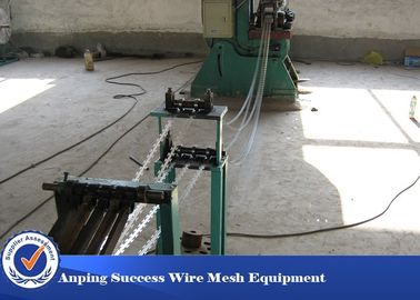 China High Speed Single Razor Wire Making Machine Green Color JG-13strips supplier