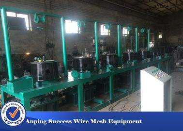 China High Speed Steel Wire Drawing Machine Easy Operation 1 - 4 Drawing Path supplier