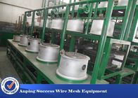 China Green Color Simple Structure Wet Wire Drawing Machine Straight Feeding Type factory