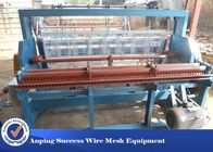 Woven Technique Wire Mesh Crimping Machine Adjustable Width 2 - 20mm Mesh