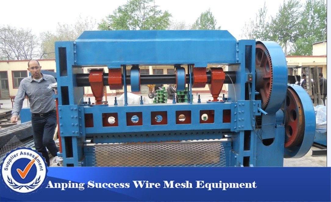 Decorative Expanded Mesh Machine Automatic Working Loading 150/Min Speed
