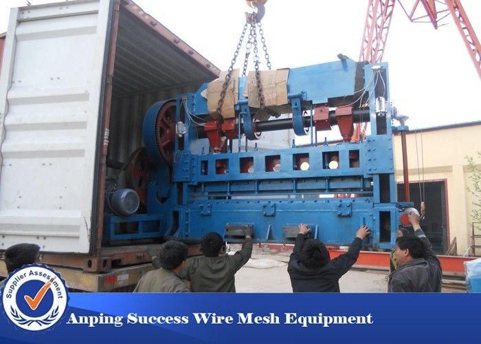 JQ25-63 Expanded Metal Mesh Machine Automatic Working Loading Easy ...