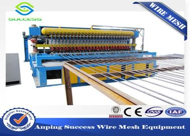 China Multi Function Wire Mesh Equipment , Reinforcing Bar Wire Mesh Weaving Machine factory