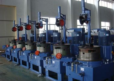 China Pulley Continuous Copper Wire Drawing Plant With CE / ISO9001 Certification factory