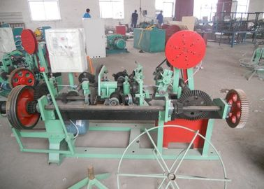 China Double Twisted / Single Twisted Barbed Wire Machine Multi Function Low Noise factory