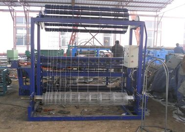 China Hinge Joint Galvanized Wire Mesh Weaving Machine 1.8 - 2.5mm Wire Diameter distributor