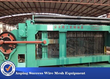 China Customized Color / Size Hexagonal Wire Netting Machine For Weaving Mesh factory