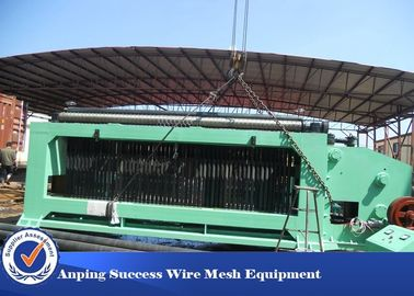 China High Speed Gabion Mesh Machine With PLC Automatic Control / Hydraulic Drive distributor