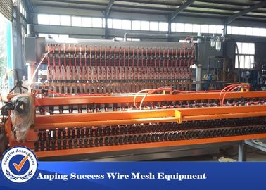 China Customized Wire Mesh Making Machine With PLC Digital Programming System factory