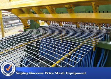 China Professional Fence Mesh Welding Machine For Floor Roof Wire Netting 380v  distributor