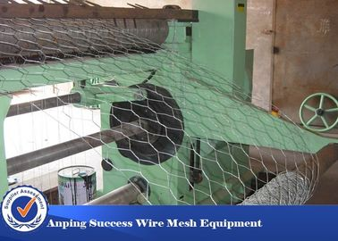 China PVC Coated Hexagonal Wire Mesh Machine For Cages Easy Operation 4.6T distributor