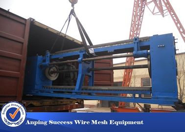 China 13x13mm Galvanized Hexagonal Wire Netting Machine For Making Gabion Basket factory