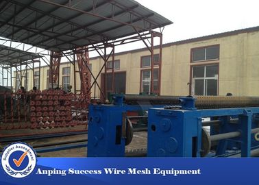 China 0.7mm Hexagonal Wire Netting Machine For Galvanized Construction Stucco Wire Netting factory