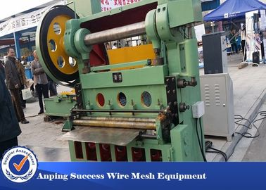 China Professional Metal Flattening Machine , Expanded Metal Lathe Machine 4KW distributor