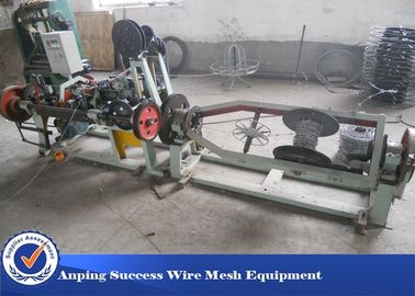 China Horizontal Design Barbed Wire Machine / Single Twisted Machine 3kw Motor factory