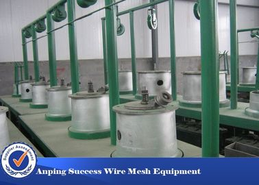 China Customized Wire Rod Drawing Machine , Wire Drawing Plant With Annealer distributor
