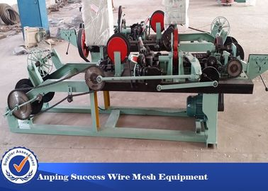 China Positive / Negative Twist Barbed Wire Machine With Automatic / High Efficiency factory