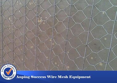 China Multi Function Rock Baskets Wire Mesh , Rock Gabion Baskets Silver Green Color distributor