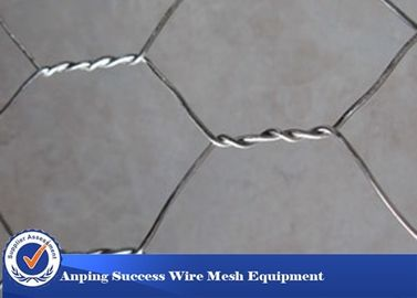China High Zinc Coating Gabion Wire Mesh Baskets Simple Construction Hexagonal Hole Shape distributor