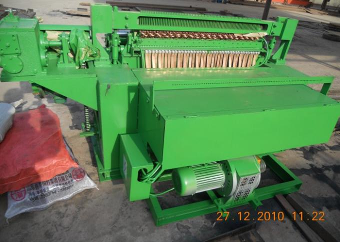 Stainless Steel Welded Wire Mesh Machine For Rolled Wire Mesh Green Color
