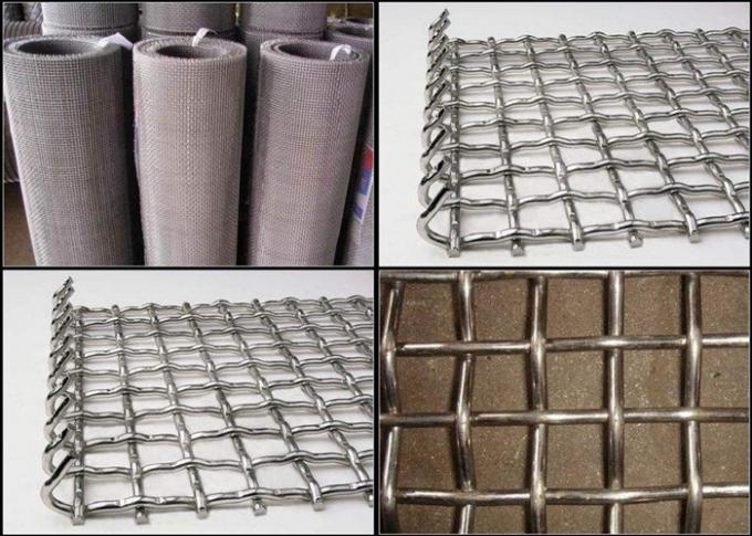 Multi Functional Crimped Wire Mesh Machine Plain Weave Style Easy Operation
