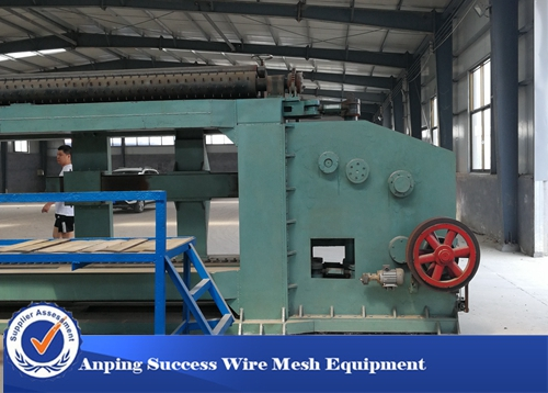 80x100mm Double Twist Gabion Mesh Machine Stable Operation OEM Available