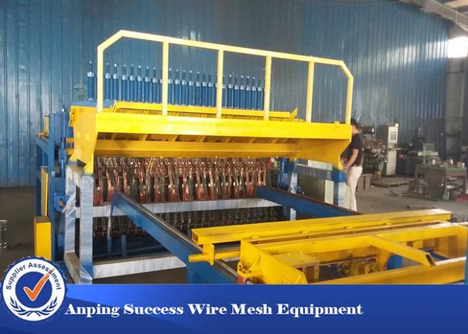 Mechanical Wire Mesh Making Machine PLC Centralized Control Touch Screen