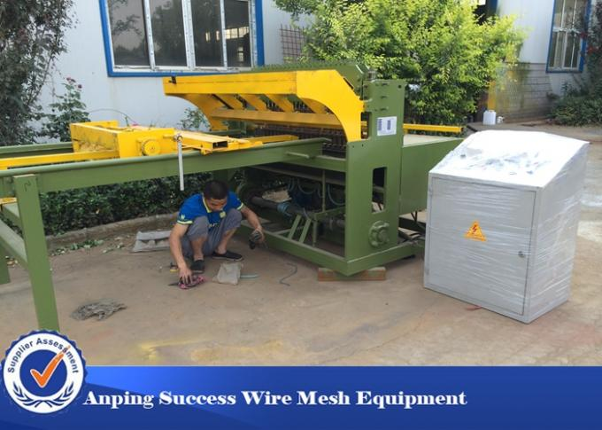 Construction Steel Automatic Wire Mesh Welding Machine 50X50-200X200MM
