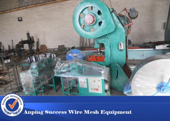 Full Automatic Concertina Wire Machine , Razor Blade Machine High Efficiency