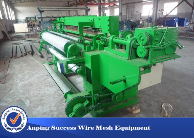 Low Carbon Welded Fence Welding Machine , PVC Plastic Coated Wire Netting Machine